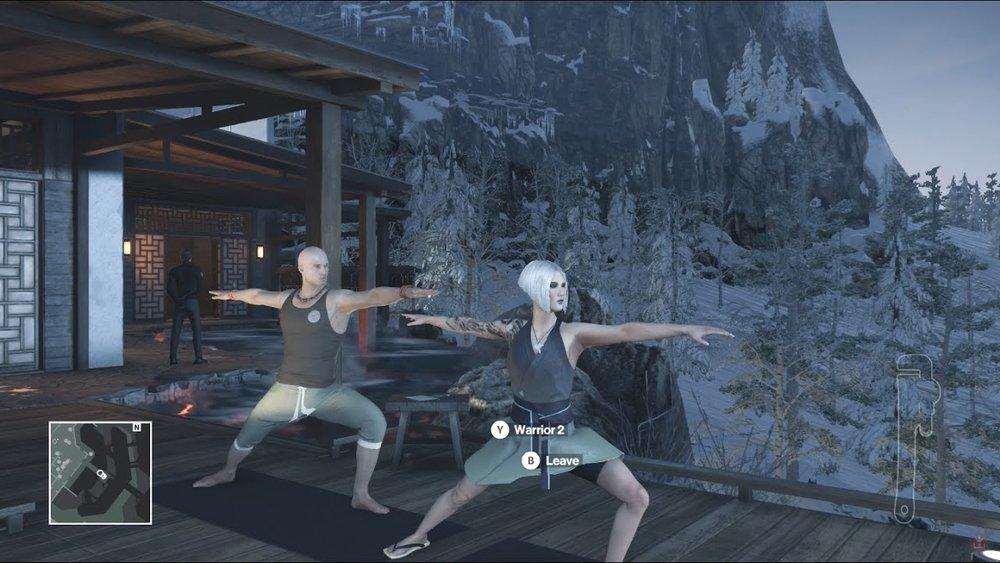 Qualche lezione di yoga in Giappone, ché manco questo è malaccio come posto.