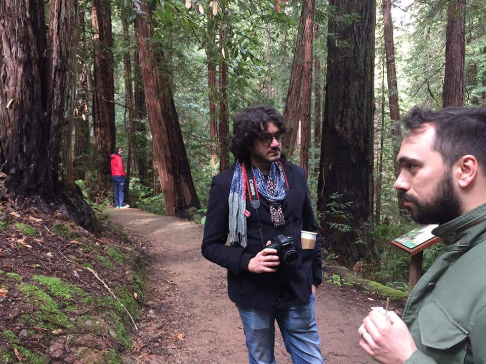 Sabato siamo andati a comporre un disco indie fra i boschi.