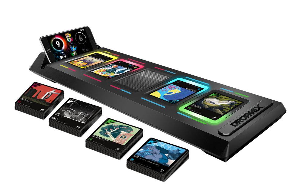 L'holo deck di  Yu-Gi-Oh ... ops... la plancia di gioco di  Dropmix .