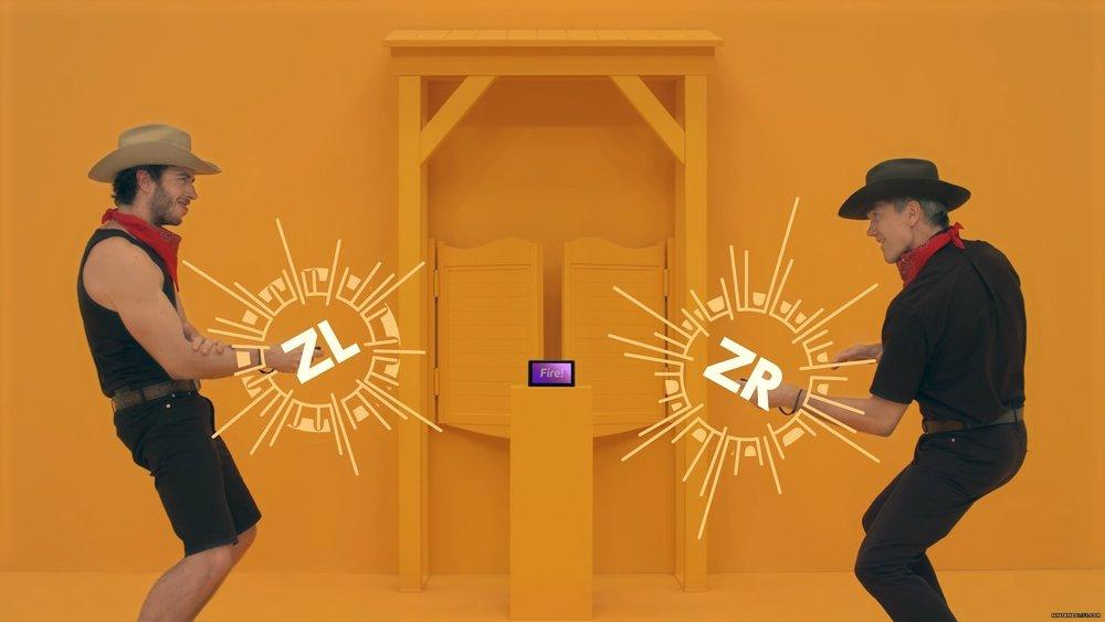 Un gioco come 1-2 Switch è difficile da spiegare a suon di immagini. Questo minigioco, visto così, sembra una cagata. Invece è bellissimo.