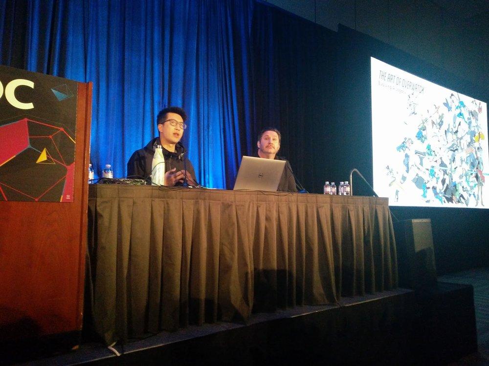 Il dinamico duo artistico di Blizzard.