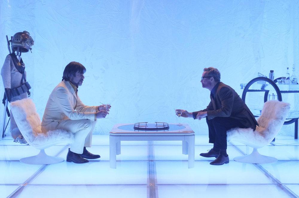 Tipica scena iper-estetizzante presente in  Legion .