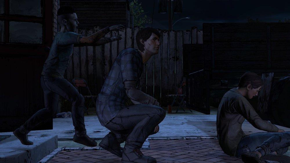 Grandi metafore: il giocatore al centro è impegnato sui personaggi insignificanti a destra mentre i colpi di scena tragici/furbi/infami a sinistra lo prendono alle spalle.
