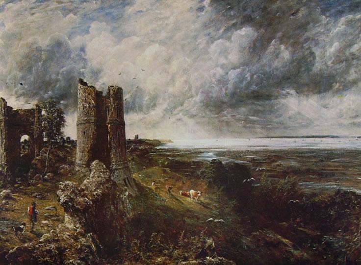 Il castello di Hadleigh(John Constable).
