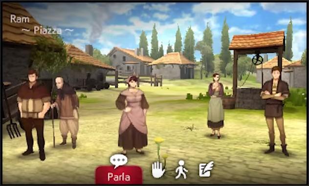 Nei villaggi è molto semplice individuare i personaggi reclutabili, perché sono gli unici vestiti in modo inappropriato e interessati a cose frivole, rispetto ai poveri villici che si spaccano la schiena nei campi e si vestono di stracci.