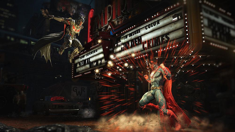 Con la storia dell'armatura alla kryptonite, anche Batman può pestare Superman.