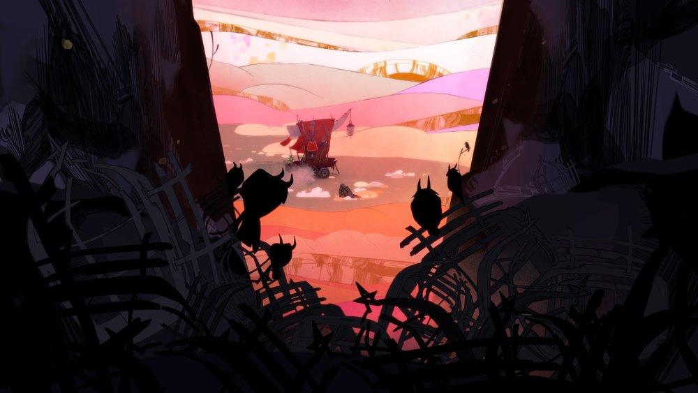 Prima schermata del gioco e mi ero già innamorato.