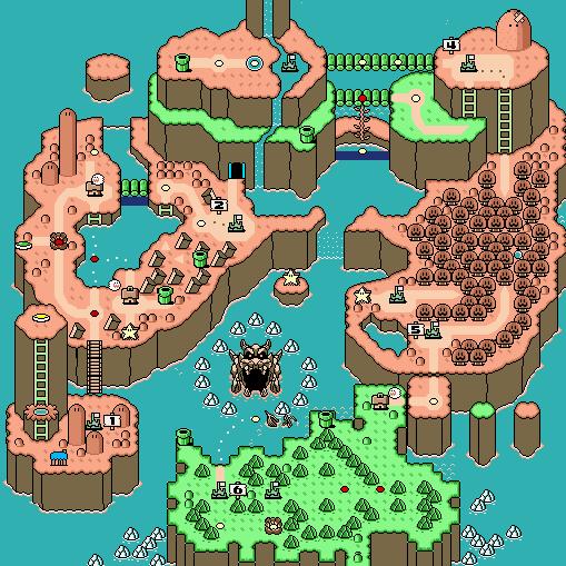 Completando anche il Secret World cambiavano alcuni sprite del gioco e perfino la palette di colori della mappa: sono ancora oggi in stato di choc per questa cosa.