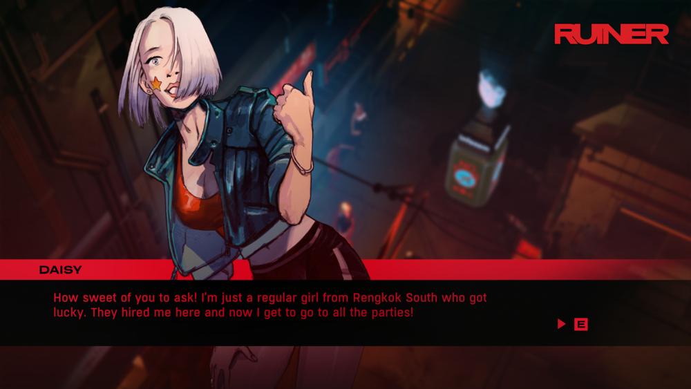 Gli strambi personaggi che abitano le vie di Rangkok mi sono sembrati la parte più interessante del gioco, per quanto quasi del tutto avulsi dal normale gameplay.