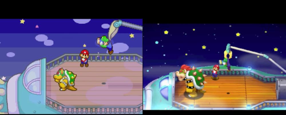 Lo stile grafico del remake risulta sfavillante, ma l'originale si difende ancora bene.