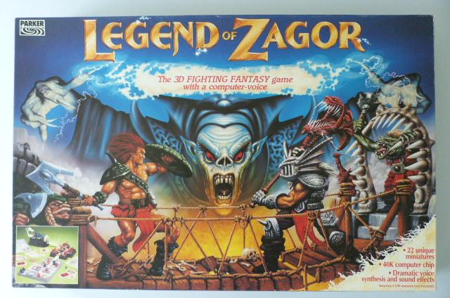- L'illustrazione della scatola forse era meno affascinante di quella di Heroquest ma sembra uscita dal Megadrive.