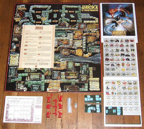 La leggenda di Zargon  è il secondo boardgame dedicato all'universo di Zargon.Il primo,   The Warlock of the Firetop Mountain   , è del 1986, inedito in Italia.