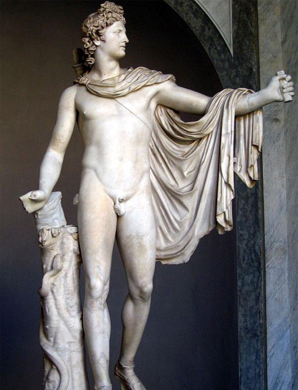 Statua di Apollo o action figure di Superman molto vecchia?