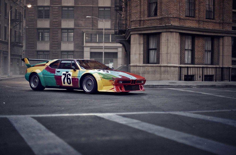 Andy Warhol BMW M1, 1979.