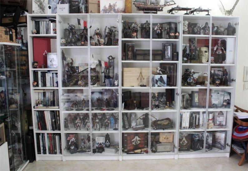 C'è chi ha dovuto comprare due case per tenersi tutto il possibile su  Assassin's Creed.