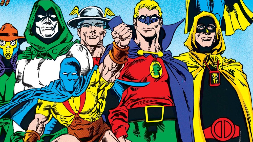 Prima della Justice League, c'era la Justice Society of America.