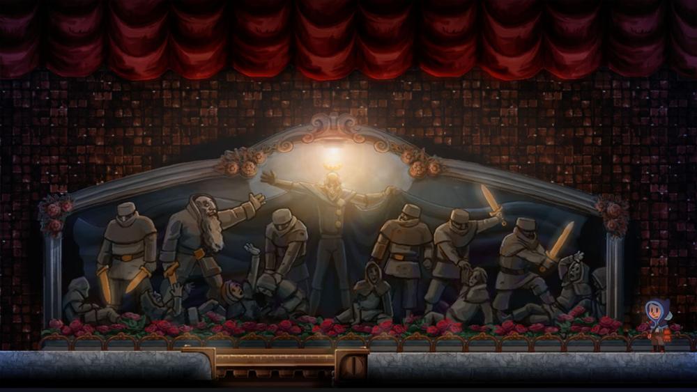 La mitologia del gioco non parla per chiacchiere, ma salta fuori dal contesto un pezzetto dopo l'altro.