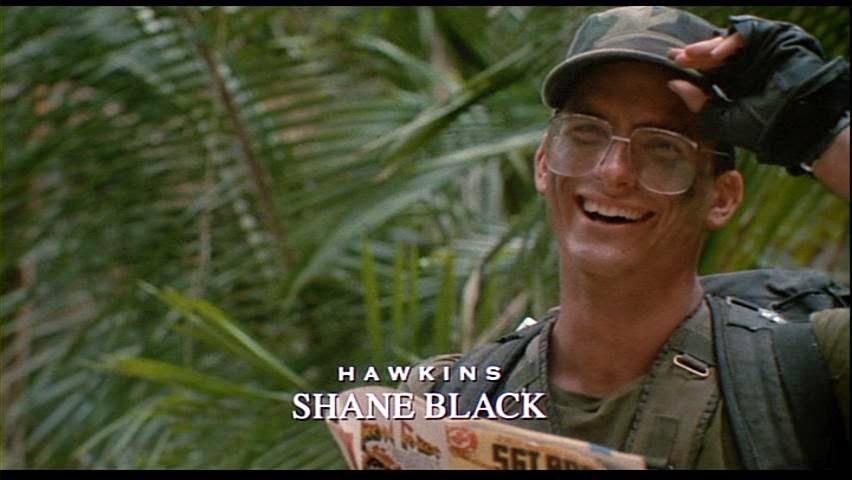 Sì, uno personaggi più fighi (?) di  Predator  era interpretato da un giovane Shane Black.