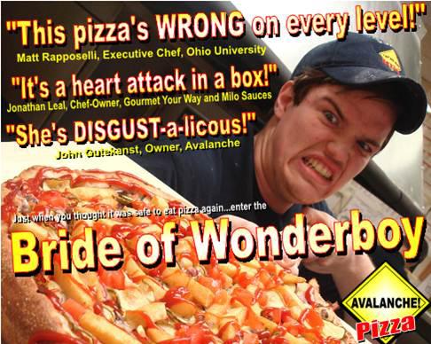 La pizzeria dell'orrore.
