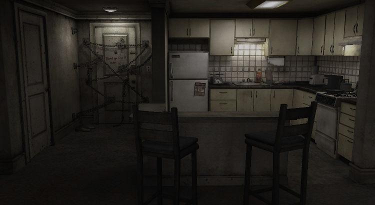 La stasi, l'immobilità e la ripetizione sono aspetti che il giocatore scopre fin da subito in  Silent Hill 4 . Nell'appartamento non c'è niente da fare, niente da raccogliere, almeno al principio. Una volta letti gli elementi di gioco della cosiddetta superficie che lo compongono, non resta molto da fare.C'è infatti una ripetizione ossessiva del giocatore che si ripercuote ad hoc nell'approccio della percezione del gameplay.