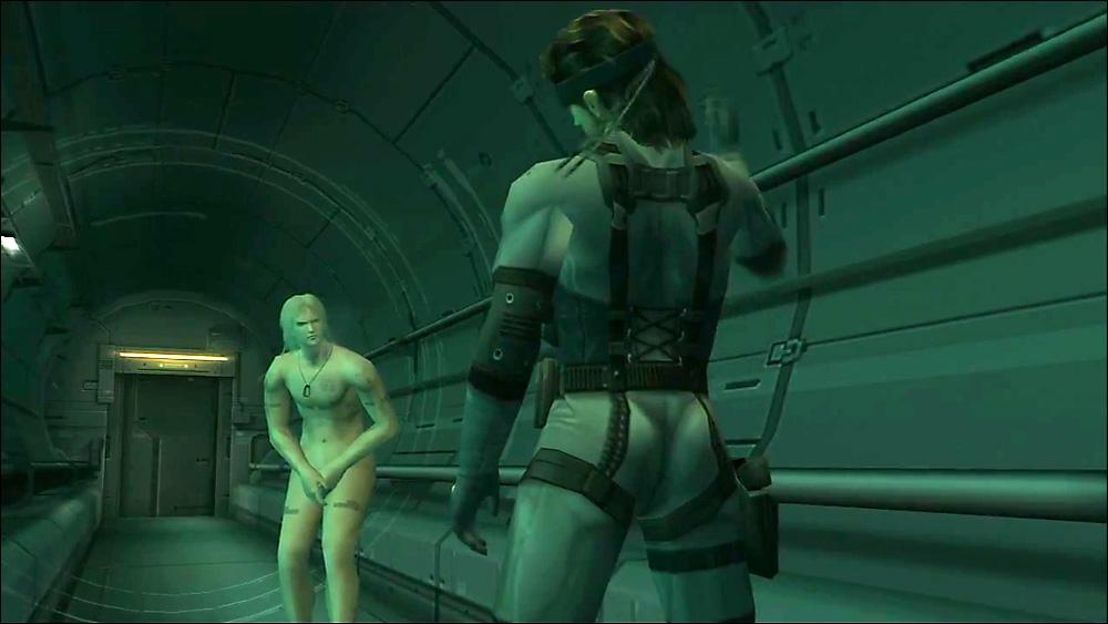 Raiden e Snake alle prese con i dilemmi filosofici di Kojima.