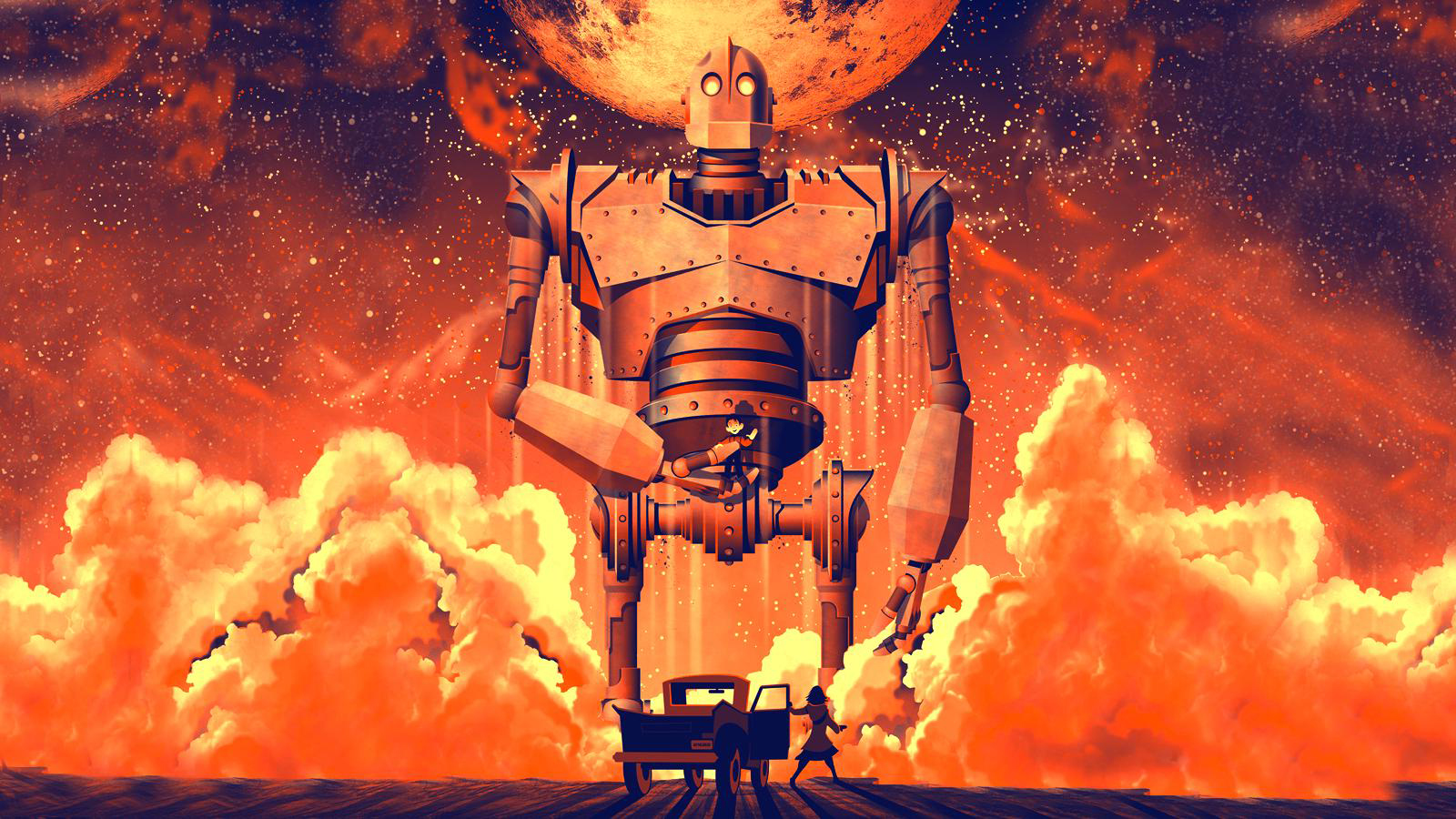 Il gigante di ferro che decise di essere piuma u outcast