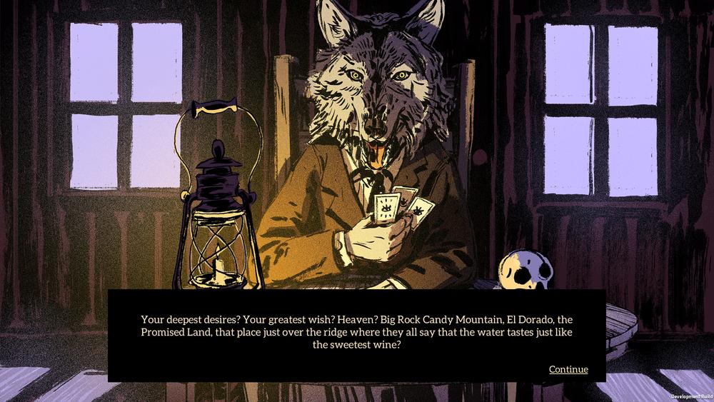 Il lupacchiotto doppiato da Sting, oltre a essere pucciosissimo, fa anche le veci del narratore.