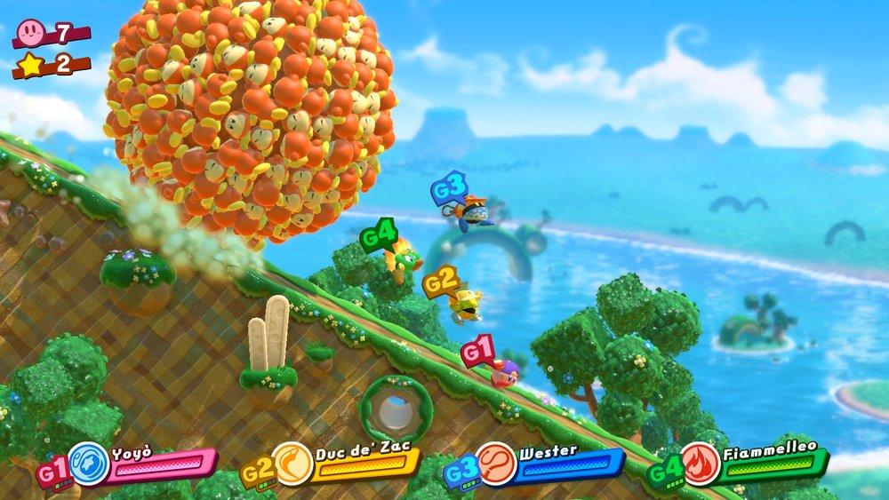 Momenti come questi sono la ragione che spinge ad andare sempre più avanti, in  Kirby Star Allies !