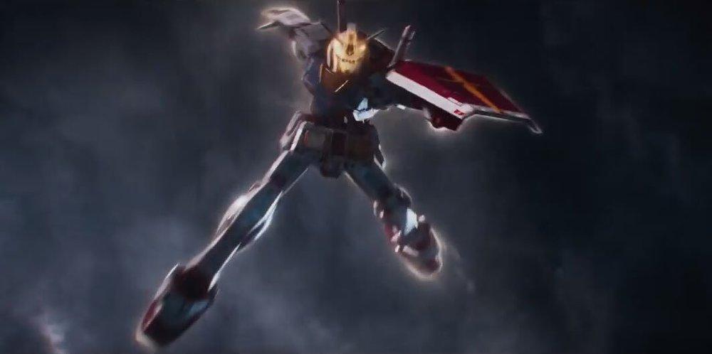 """""""Hmm. Ho idea che i fan dei robottoni debbano in parte accontentarsi"""" """"Ma c'è il Gundam!"""""""
