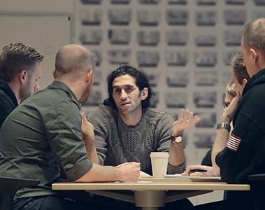I lavori su  A Way Out  sono iniziati con un team da dieci persone, poi cresciuto fino a quaranta.