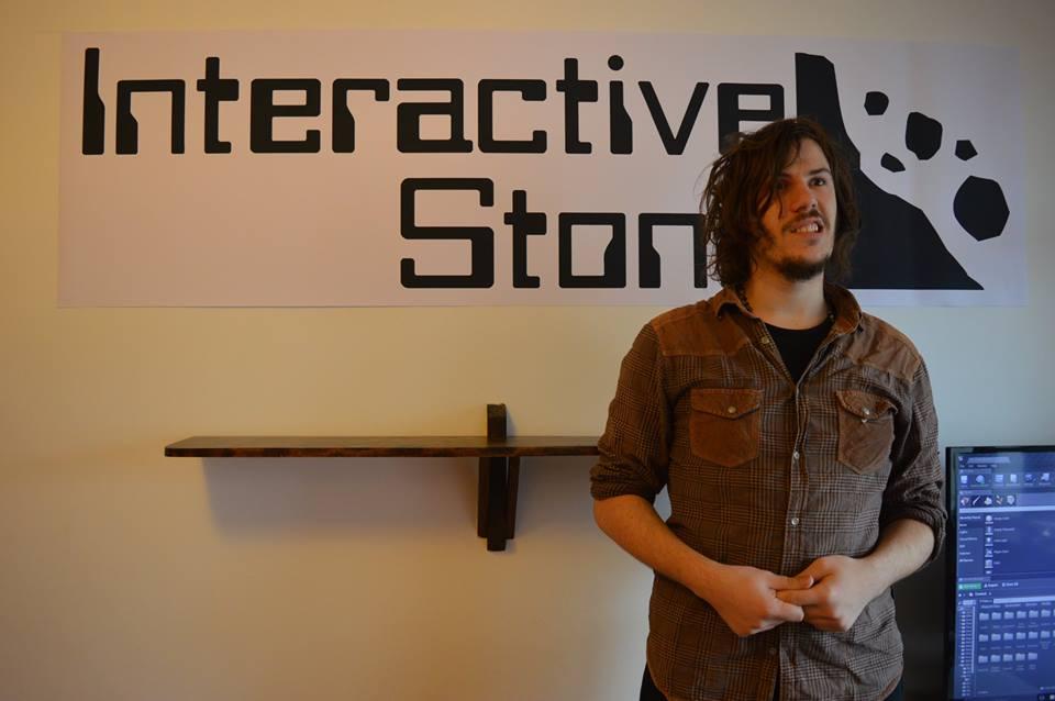 George Remus negli uffici di Interactive Stone.