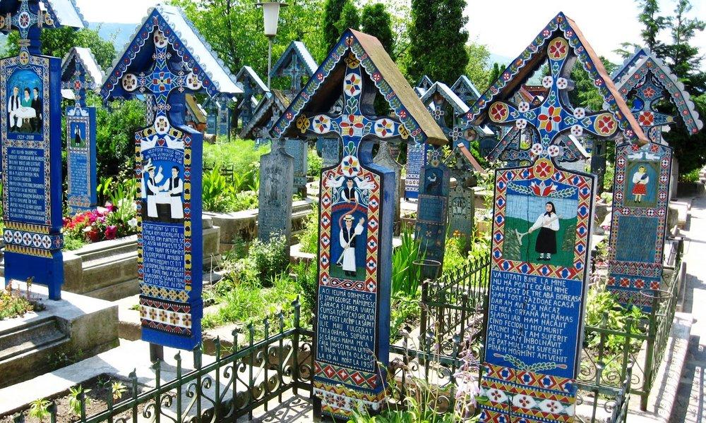 Il Cimitirul Vesel di Săpânța.