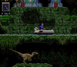 Indovina indovinello: qui il giocatore sta controllando il Raptor o Grant?