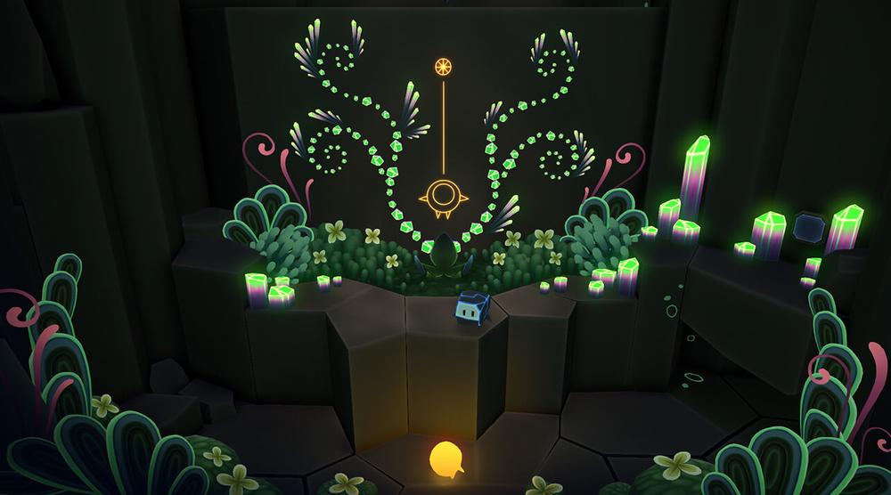 Nel corso dell'avventura, incrociamo alcuni glifi che ci aiutano a risolvere questo o quell'altro enigma.