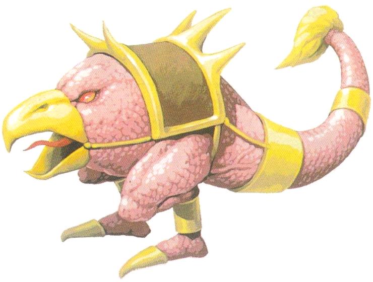 I Bizarrian sono questa sorta di basilischi in miniatura che agganciano l'universo di  Altered Beast  a quello di  Golden Axe .