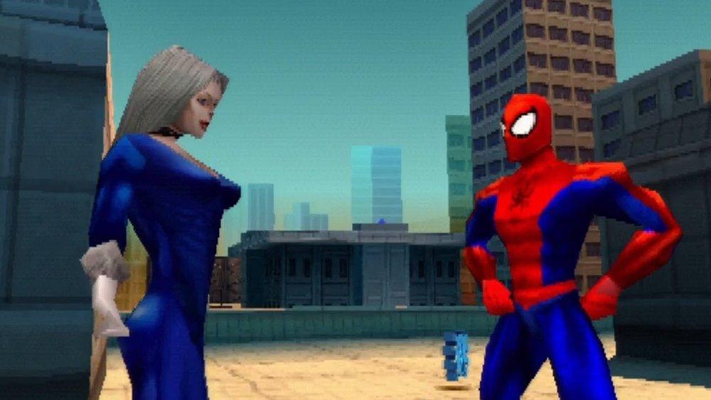 Incredibile a dirsi, ma le cutscene di  Spider-Man , diciotto anni fa, erano perfette: là dove oggi vediamo Michael Jackson in versione Donna Gatto, all'epoca c'era l'uomo ragno che avevamo sempre sognato.