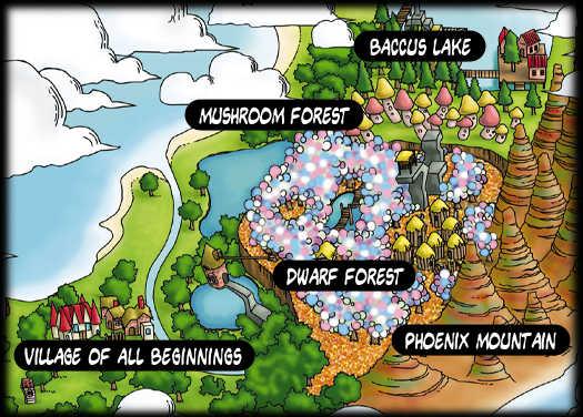 Che cuore, la mappa di  Tombi!