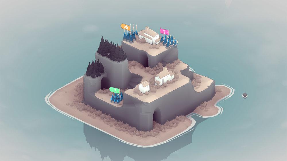 Le isole offrono spesso sentieri, passaggi e alture