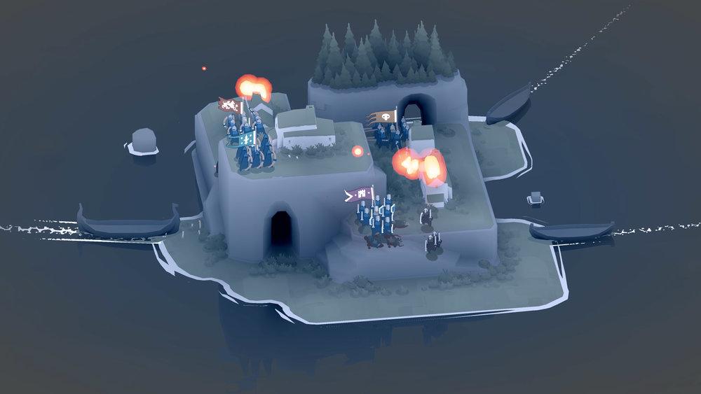 Ecco cosa succede quando butta male: gli avversari vi bruciano le case.