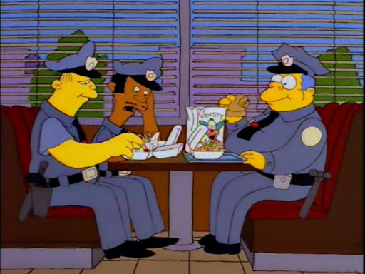 «Stupidi... millenial... fighetti... burp!»