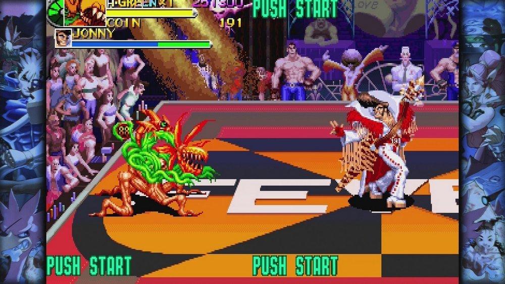Graditissimi i due titoli inediti in occidente: questo è  Battle Circuit , in cui i designer Capcom hanno dato sfoggio della loro… Creatività.