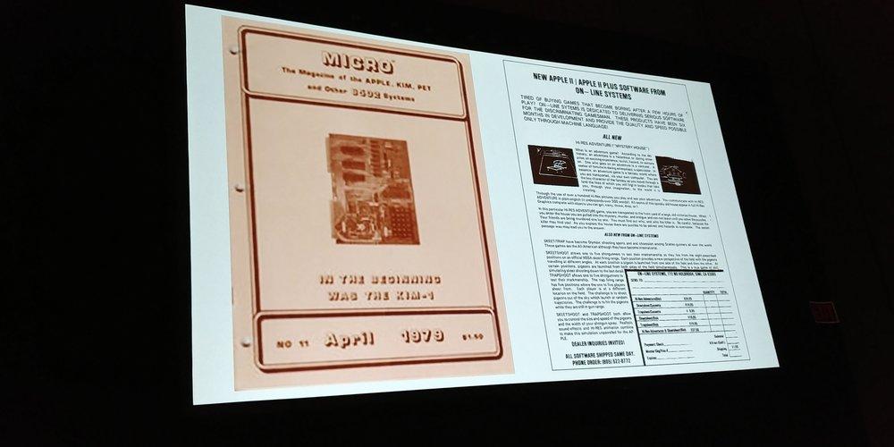 Bastava piazzare un paio di immagini del gioco sulle riviste specializzate perché il pubblico di riferimento capisse al volo la portata innovativa di  Mystery House .