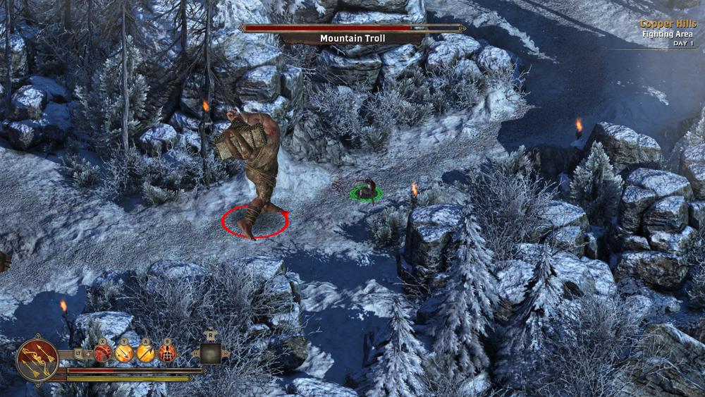 Ovviamente, in  Alaloth  ci sono i troll di montagna (eh, sì, pure di draghi).