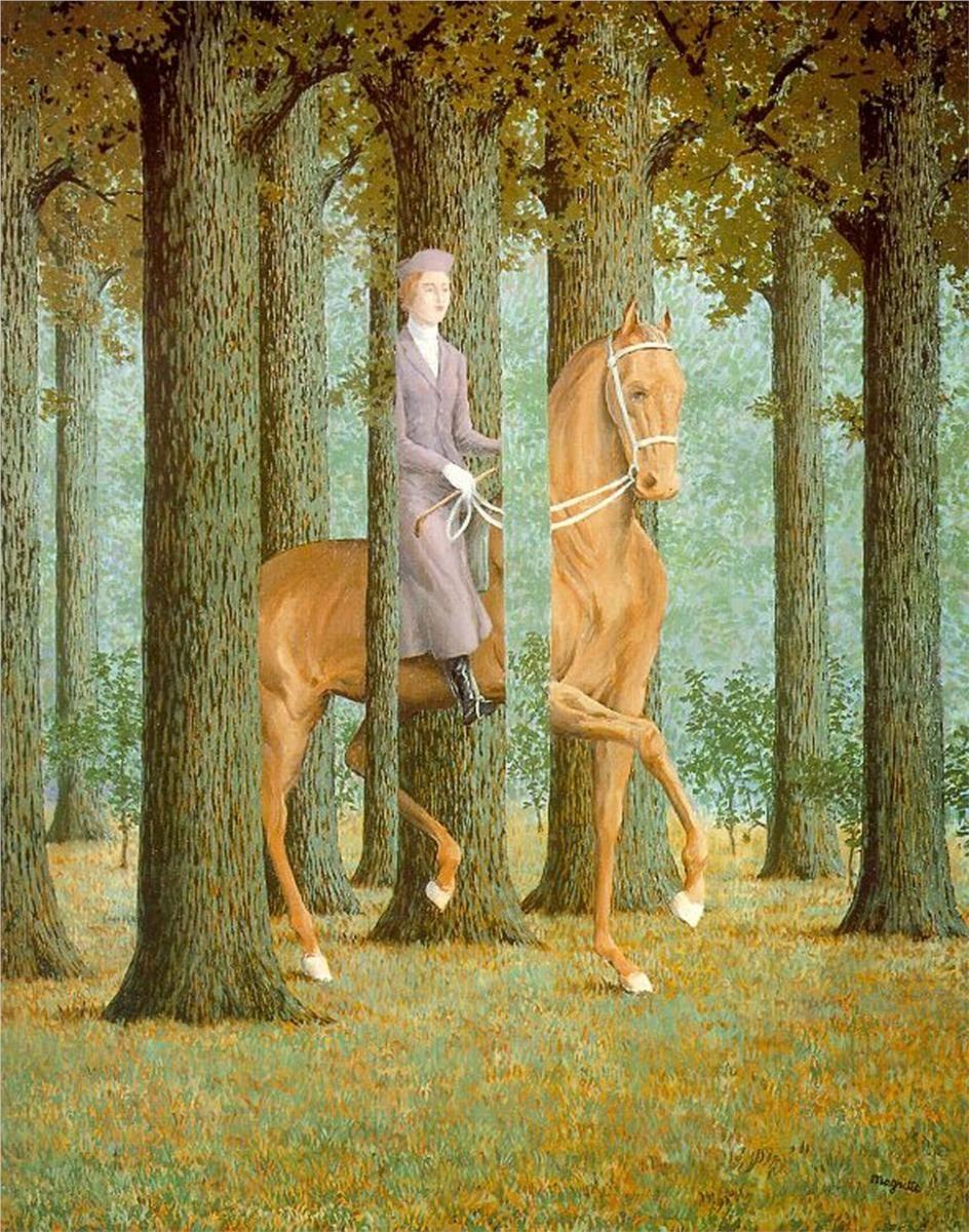 Le Blanc-Seing, René Magritte.