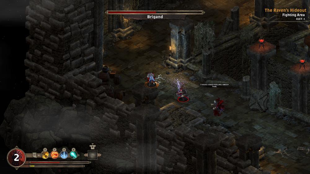 I combattimenti in tempo reale sono il cuore del gioco.