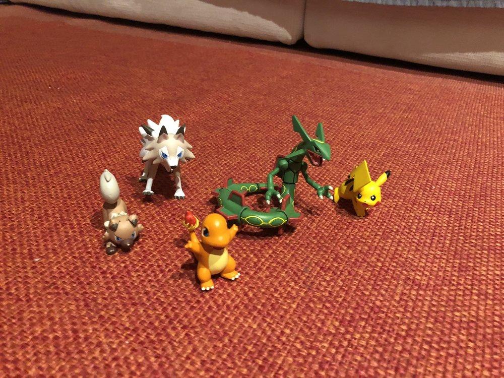 """Gli """"altri"""" giochi dei Pokémon, che sono pure super belli, ma giacciono quasi inutilizzati."""