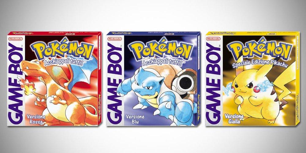 Tutto ebbe inizio così. In realtà, in Giapponelandia c'era pure  Pokémon Verde , ma tant'è…