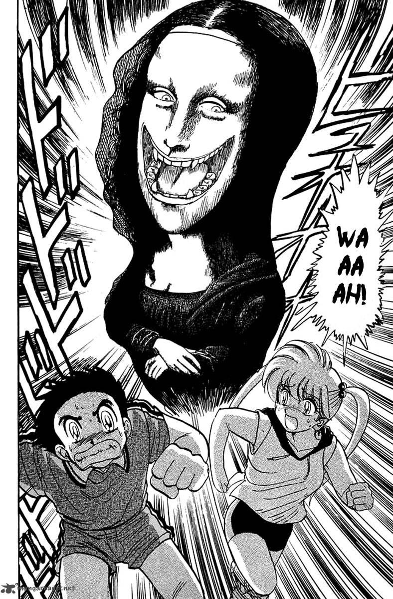 """- """"Il Mistero della Monna Lisa Cannibale"""" è stato un incubo del giovane Isayama e fonte di ispirazione Hell Teacher Nube."""