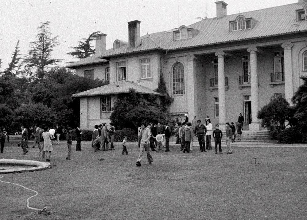 L'ambasciata di Santiago del Cile.
