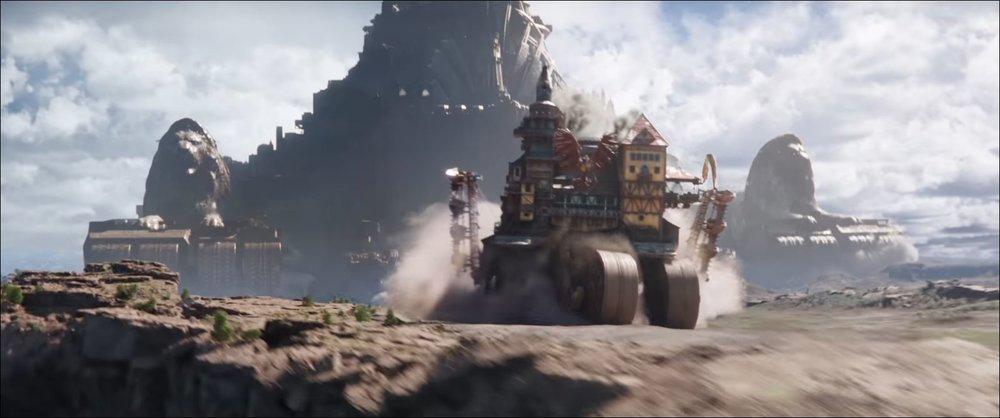 Le città corazzate che si menano sono tra le cose migliori del film (la migliore?).